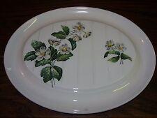 Vintage Royal Worcester Palissy 'Apple Blossom' Oval meat platter