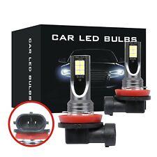 DICN H11 H8 H9 160W LED Fog Light Bulbs Car Driving Lamp DRL 6500K HID White