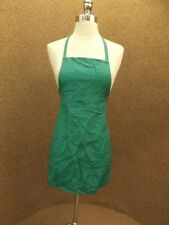 Emerald Green One Pocket Full Apron Vtg 1950s 60s NEW NOS Kitchen Craft Florist