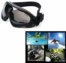 MIRROR LENS MULTI USE MOTORCYCLE JET SKI AIRSOFT PADDED GOGGLES SUNGLASSES