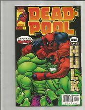 Deadpool 4 (1997)  CLASSIC HULK COVER!!!    EXTREME HIGH GRADE!!!