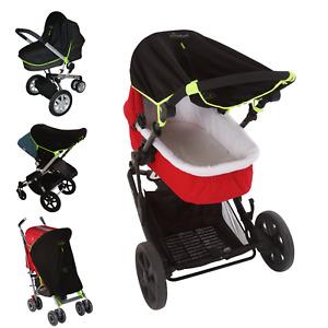 Universal fit baby pram & carrycot sun shade (0-6m) - SnoozeShade Original