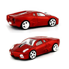 USB Car Mouse LED light SPORTS CAR Wireless Optical Mice FOR PC Mac Laptop Red