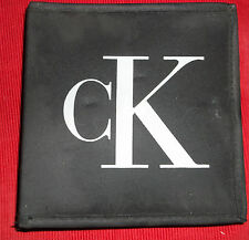 CK be CD/DVD Zipped Travel Case album wallet Fits 22 CD's/DVD's