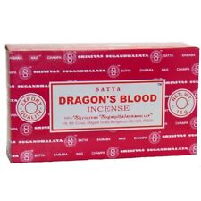 Satya Champa Dragon's Blood Incense Woody Citrus Floral Fragrance 15X12 Stick