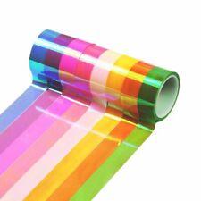 8pcs Decoration Holographic Glitter Tape Ring Stick Accessory Masking Tape
