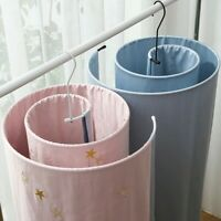 Stainless Steel Round Spiral Quilt Sheets Hanger For Laundry Use Space Saver