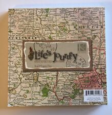 "K & Company Life's Journey Map Paper Pad  6""x6"" Crafts Scrapbooking"