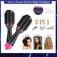 Haartrockner Warmluftbürste 3 In 1 Rundbürstenföhn Negativer Haarglätter Bürste