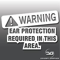 Warning Loud Exhaust Funny Novelty Car Vinyl Decal Sticker JDM Euro DUB