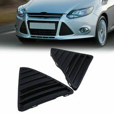 2x Front Right Left Bumper Grille Grill ABS Trim Cover For Ford Focus 2012-2014