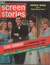 DELL  SCREEN STORIES  FEB 1966  JAMES BOND  THUDERBALL GIRLS  COVER AND STORY