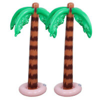 1 x Inflatable Hawaiian Tropical Palm Tree Toy Beach Pool Party Decor 90x27.5cm