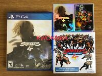 Streets Of Rage 4/ Bare Knuckle 4 - PlayStation 4/PS4 - Limited Run - Brand New