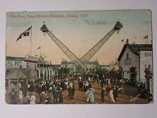 K511 - 1910 FLIP FLAP at JAPAN-BRITISH Exhibition Postcard