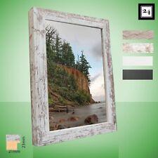 Bilderrahmen Malmo Holz MDF Foto Poster Rahmen 4 Trend-Farben 60 Größen