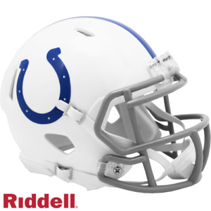 Indianapolis Colts Speed Riddell Mini Helmet New in box