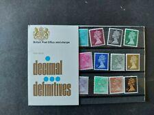 GB Stamps Decimal Definitives Presentation Pack Number 26 NO Sleeve