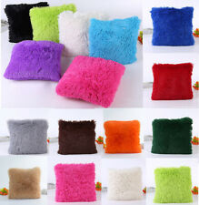 2020 Luxury Fluffy Cushion Cover Furry Soft Pillow Case Plush Home Decor Stock