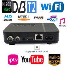 Mini New DVB-T2 H.265/HEVC Full Compatible DVB-T/H264 Terrestrial Digital Tuner