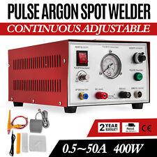 Pulse Argon Spot Welder 400W Welding Jewelry Gold Silver Platinum Palladium 233