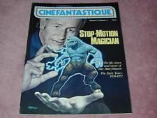 CINEFANTASTIQUE vol.11 no.4, Harryhausen Stop Motion Magician, FREE SHIPPING USA