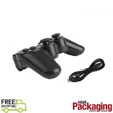 New Wireless Bluetooth Game Controller For PS3 Black Free Shipping