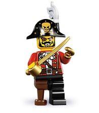 Lego minifig series 8 pirate blackbeard brickbeard ship train city technic boat