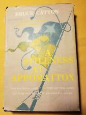 A STILLNESS AT APPOMATTOX by Bruce Catton 1953 with DJ