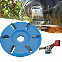 6 Teeth Wood Carving Disc Tool Milling Cutter for Opening Aperture Angle Grinder