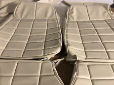Ford Xb Falcon GS Sedan Seat Trim Covers Full Set Proper Off White aussie Made