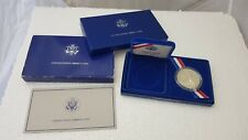 United States 1986 Liberty Silver Dollar Coin in Presentation Box