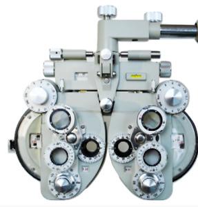 Ophtalmique Vue Vision Testeur Blanc Optique Manuel Refractor Optométrie VT-50