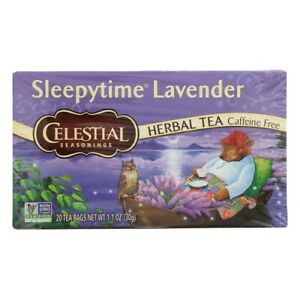 Celestial Seasonings Tea Sleepytime Lavender