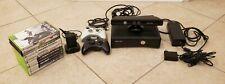 Microsoft Xbox 360 S Slim Console Bundle - Model 1439 - 11 Games, 2 Controllers