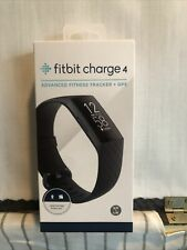 Fitbit Charge 4 Advanced Fitness Tracker + GPS Black - FB417BKBK2 - New!!! (CR)