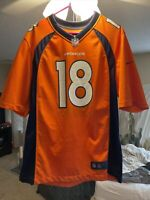 NFL On Field Peyton Manning Broncos Jersey Nike Size Large