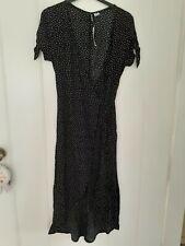 H & M Polka Dot / Spotty Summer Wrap Dress Size 8 BNWT