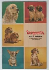 "[24797] ""SERGEANT'S DOG BOOK"" VINTAGE GUIDE BOOK (DATE UNKNOWN)"