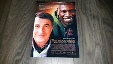 "THE INTOUCHABLES PP SIGNED 12""X8"" A4 PHOTO POSTER OMAR SY FRANCOIS CLUZET"