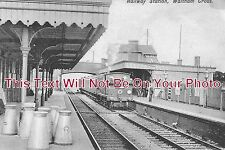 HF 131 - Waltham Cross Railway Station, Hertfordshire - 6x4 Photo