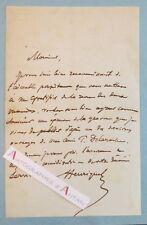 L.A.S Louis-Pierre HENRIQUEL-DUPONT Graveur dessinateur - Paul DELAROCHE Peintre