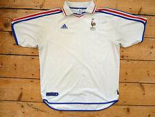 France football chemise taille xl trikot maroc maillot domicile jersey maglia 2000