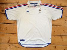 FRANCE FOOTBALL shirt size XL Trikot Maroc Maillot Domicile Jersey Maglia 2000