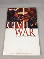 Civil War TPB Marvel Comics Captain America Iron Man Avengers Spider-Man