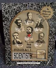 Rare! Vintage Pinball Scientists 1992. Accoutrements #9640 + Dr Science Big Book