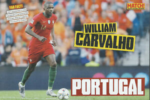 MATCH!-POSTER 2019/20-PORTUGAL & BETIS-WILLIAM CARVALHO