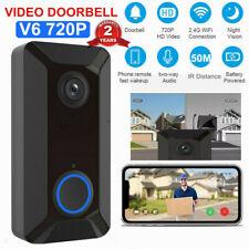 WI-FI Ring Video Doorbell Camera Security Smart Phone Door Bell Intercom 720P HD
