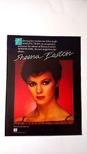 "SHEENA EASTON  ""MODERN GIRL""    (1981)   RARE ORIGINAL PRINT PROMO POSTER AD"