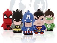 5PCS/lot hot cartoon Super Heroes USB 2.0 8GB flash drive memory stick pendrive